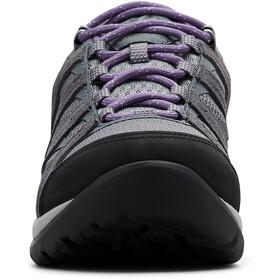 Columbia Redmond V2 WP Zapatillas Mujer, ti grey steel/plum purple